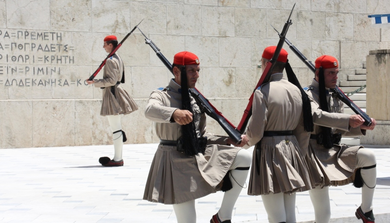 Changing of the Guard, Syntagma Square