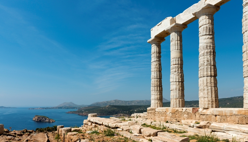 Temple of Poseidon at Cape Sounio
