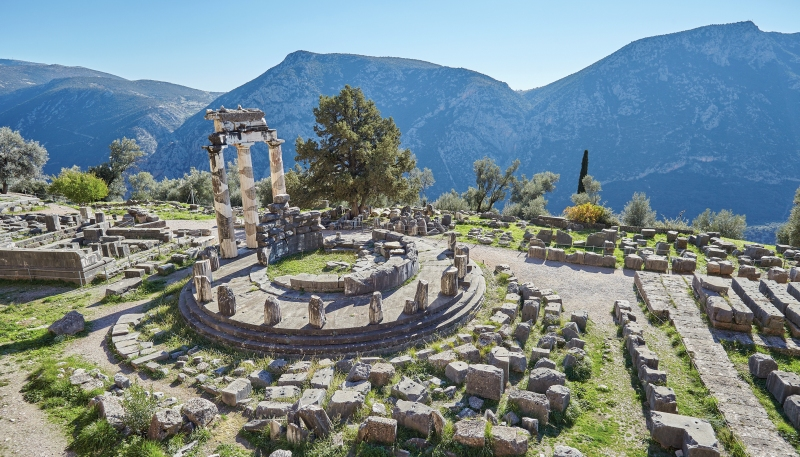 Archaeological Area of Delphi